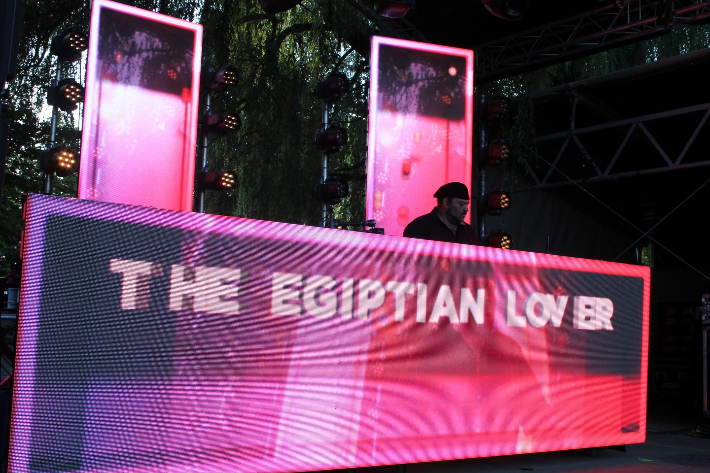 THE EGYPTIAN LOVER LIVE