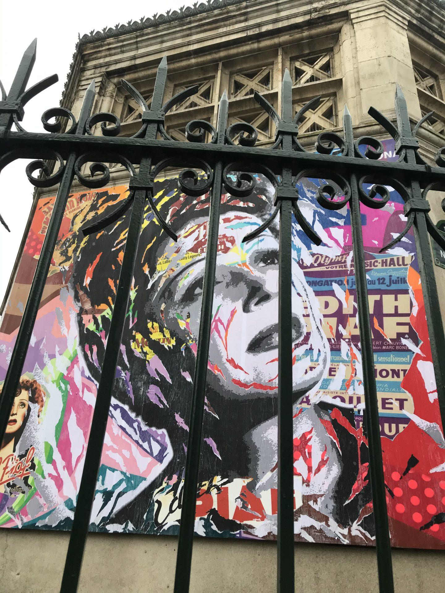 street art Montmartre